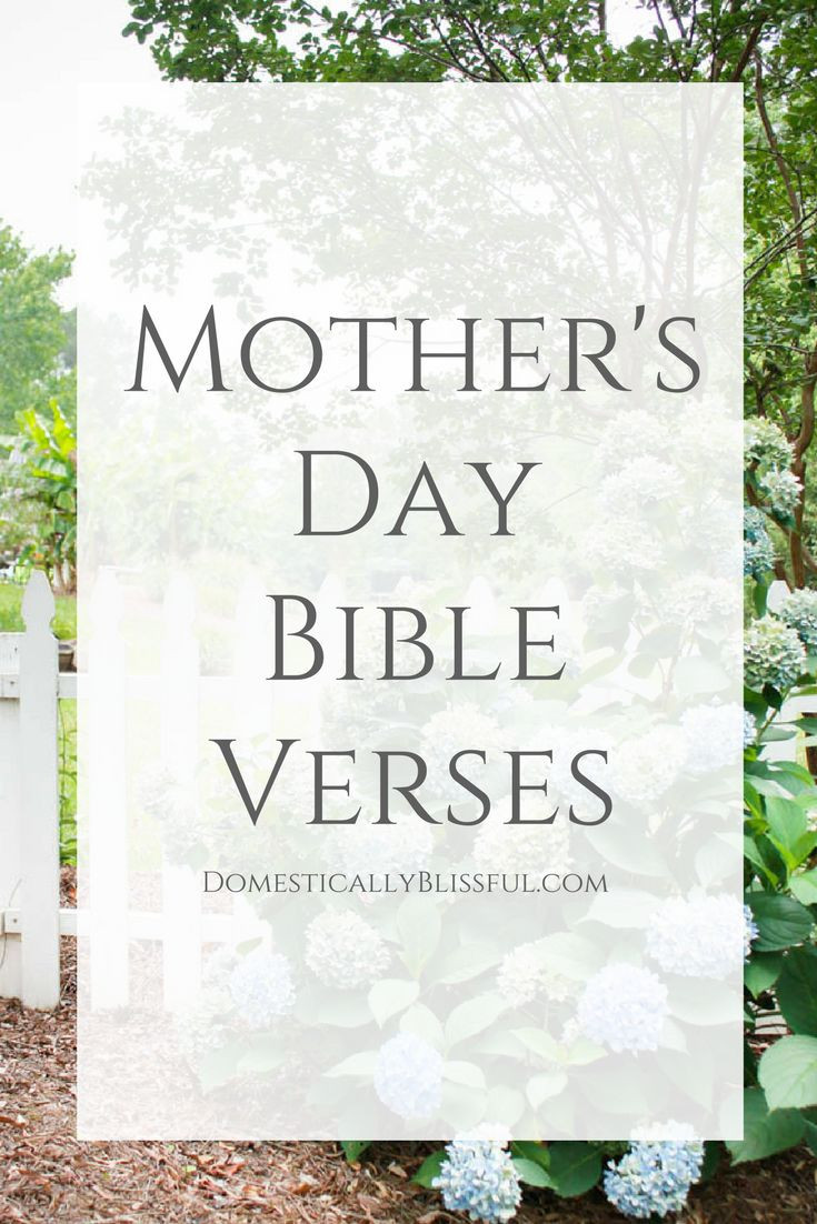 Mother And Childrens Quotes  Bible Verses about Mothers