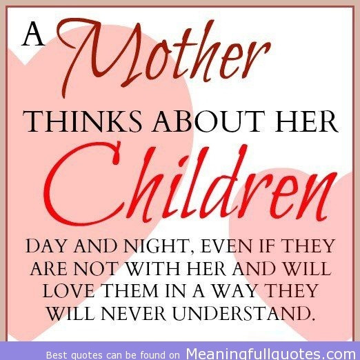 Mother And Childrens Quotes  1000 Mother Child Quotes on Pinterest