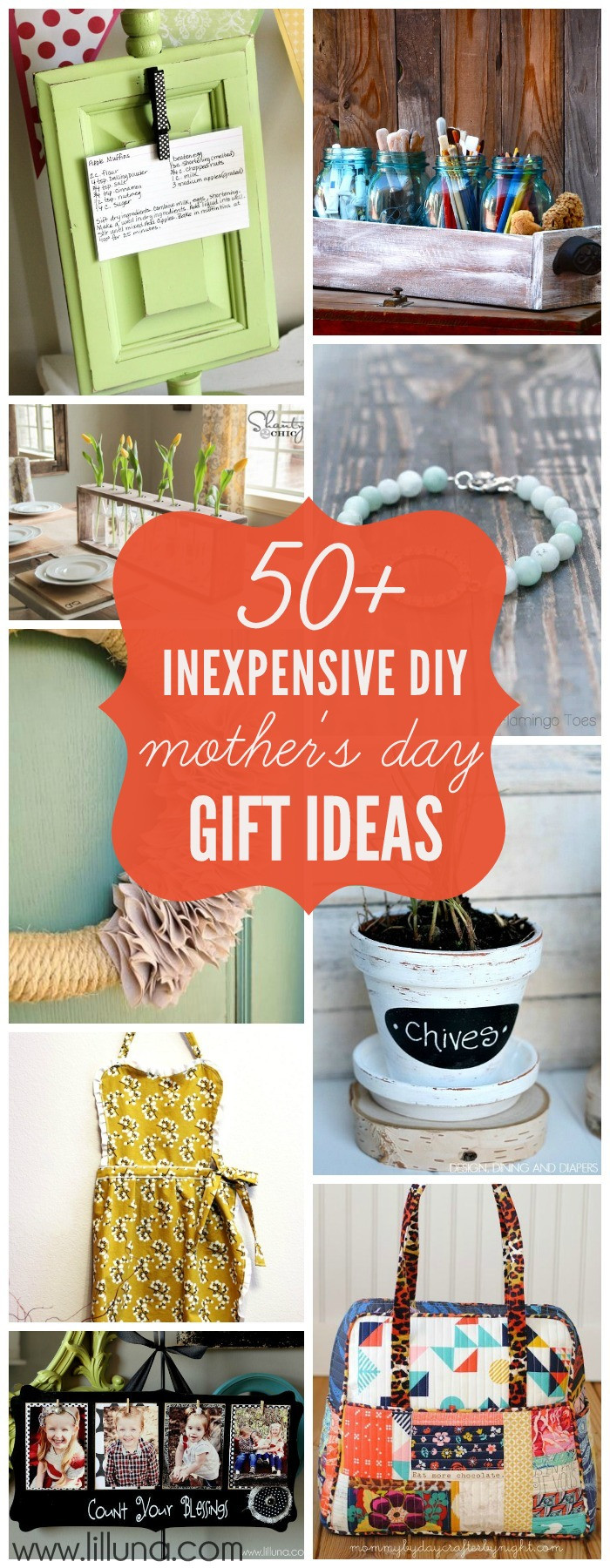 Mother Day Gift Ideas  Inexpensive DIY Mother s Day Gift Ideas