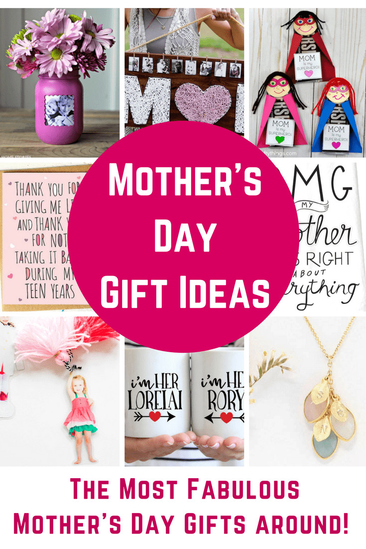 Mother Day Gift Ideas  Fabulous Mother s Day Gift Ideas DIY Gifts and Great
