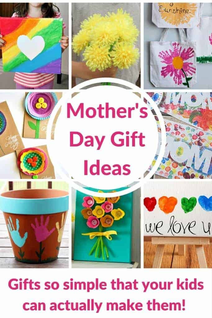 Mother Day Gift Ideas  Cute Handprint and Footprint Crafts Princess Pinky Girl