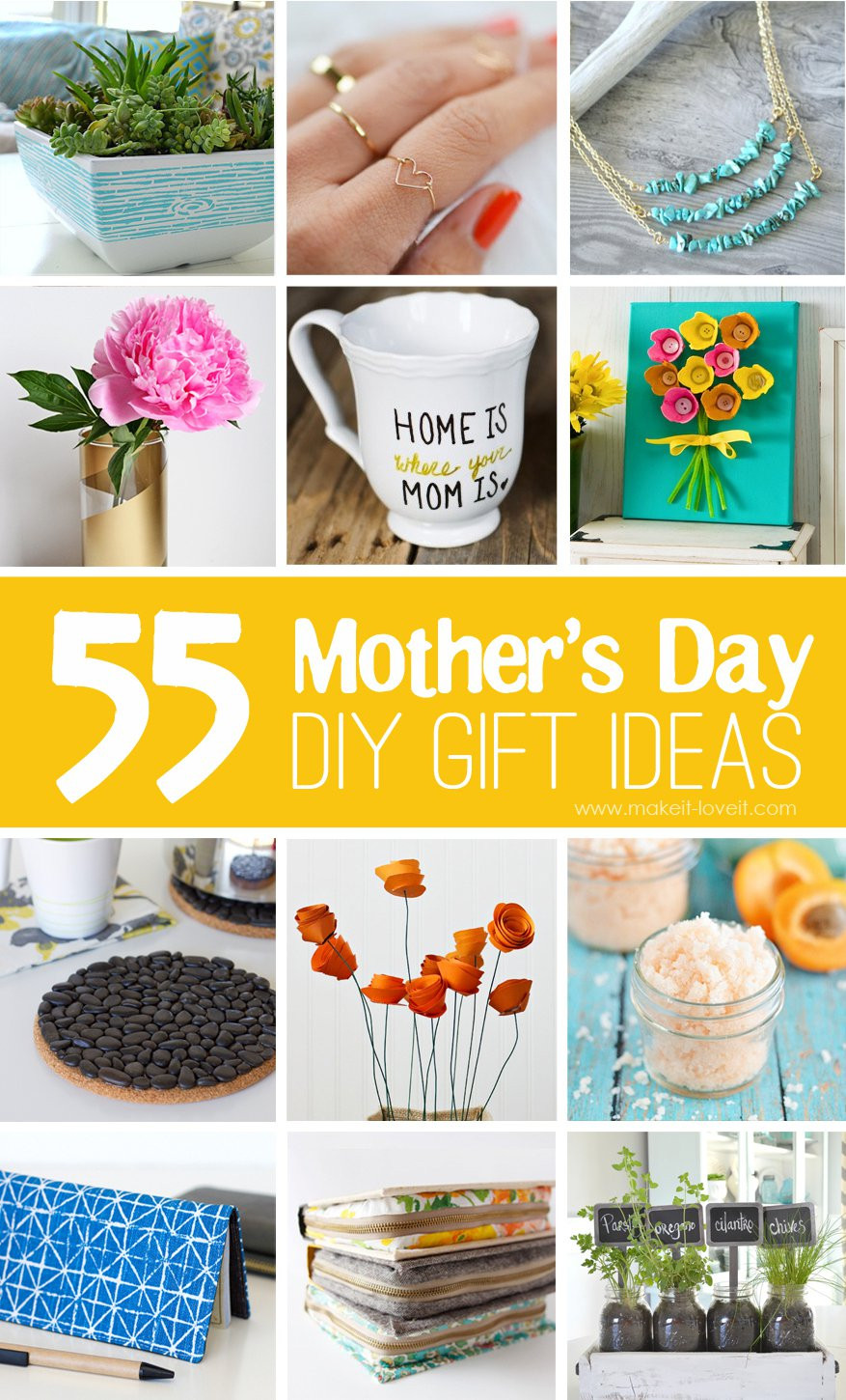 Mother Day Gift Ideas  40 Homemade Mother s Day Gift Ideas