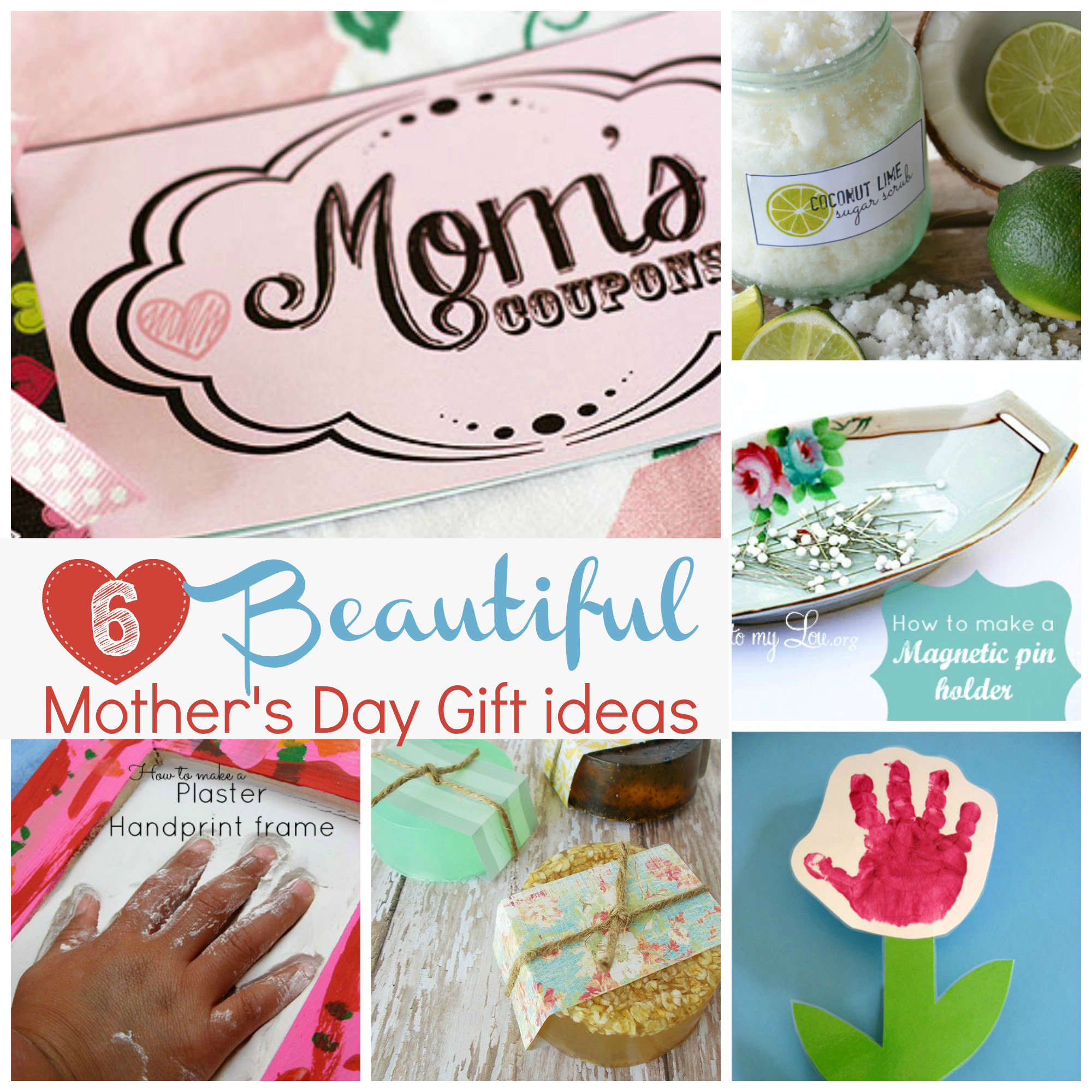 Mother Day Gift Ideas  Handmade t ideas for Mother s Day