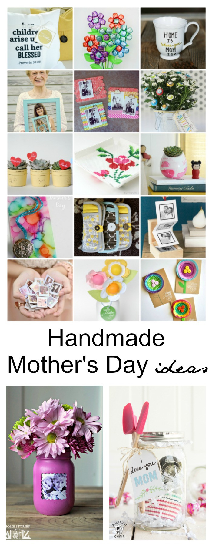 Mother Day Gift Ideas  Handmade Mother s Day Gift Ideas The Idea Room