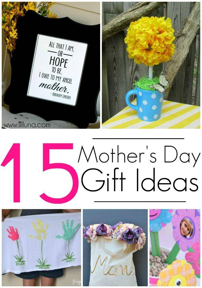Mother Day Gift Ideas  15 DIY Gift Ideas for Mothers Day Crafts & Homemade Gifts