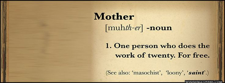 Mother Definition Quote  Motherhood quote A great Cover picture for