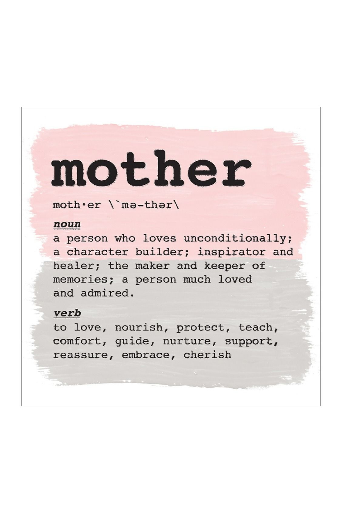 Mother Definition Quote  THE ARTISTS COALITION HOME