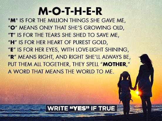 Mother Definition Quote  What A Mother Means Quotes QuotesGram
