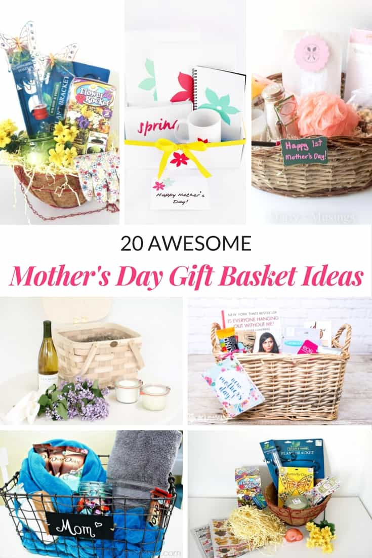 Mother'S Day 2019 Gift Ideas  AWESOME MOTHER S DAY GIFT BASKET IDEAS