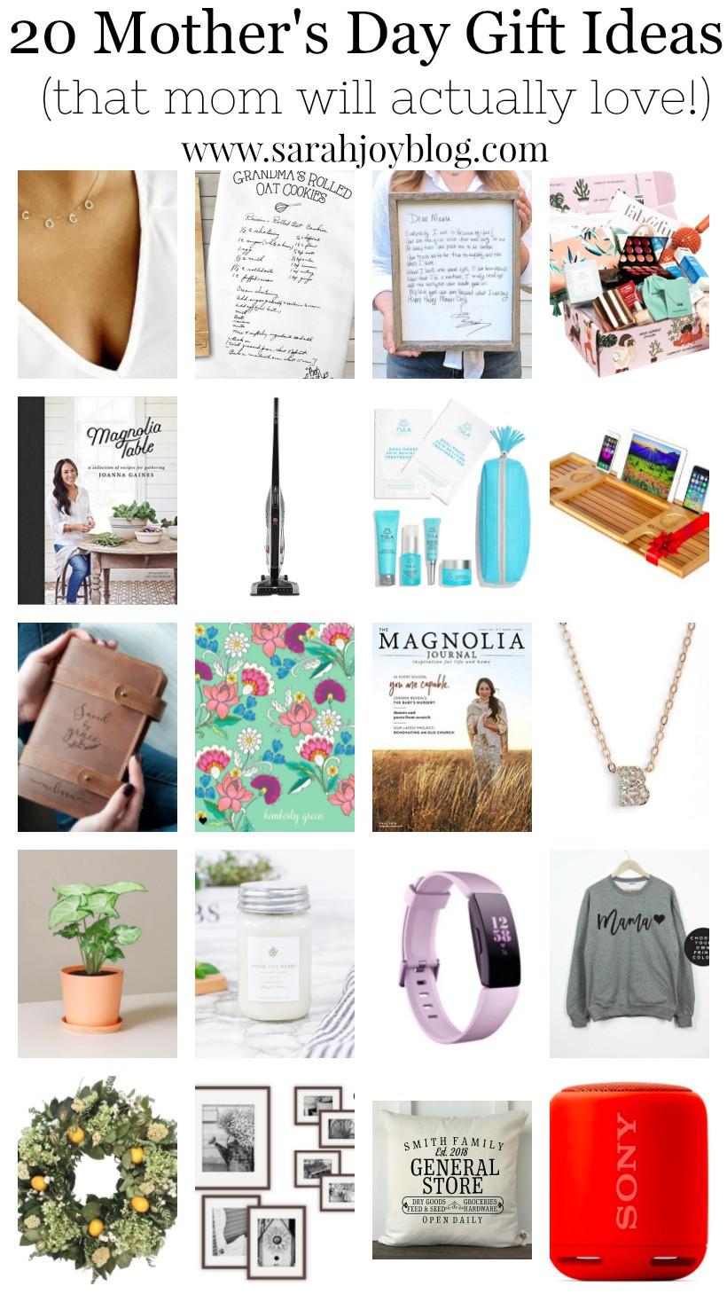 Mother'S Day 2019 Gift Ideas  20 Mother s Day Gift Ideas Sarah Joy Blog