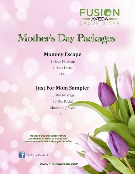 Mother'S Day Blessing Quotes  Fusion Salon and Spa Mother s Day Packages