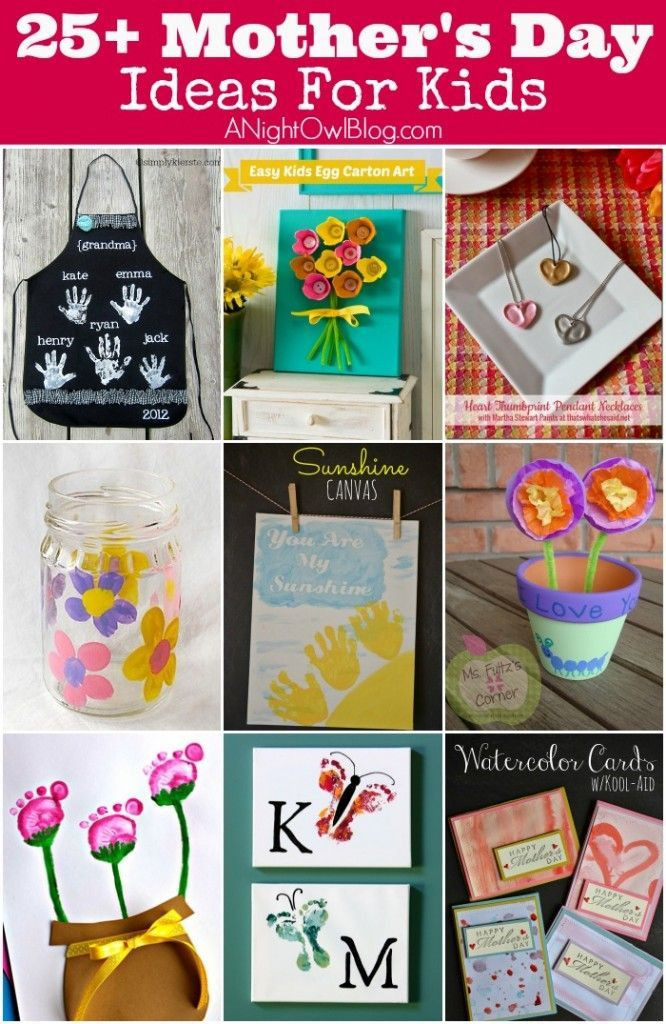 Mother'S Day Gift Ideas For Preschoolers  17 Best images about Mother s Day Craft Ideas for Kids on