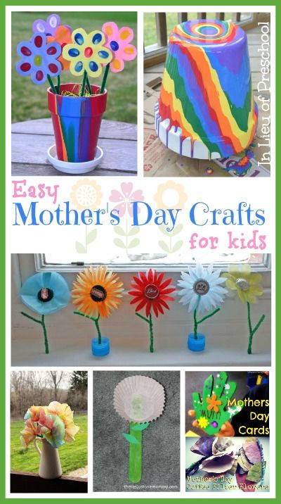 Mother'S Day Gift Ideas For Preschoolers  Mother's Day Crafts for Kids Mother's Day is ing soon