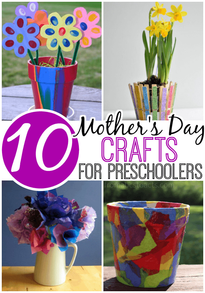 Mother'S Day Gift Ideas For Preschoolers  10 Mother s Day Crafts for Preschoolers