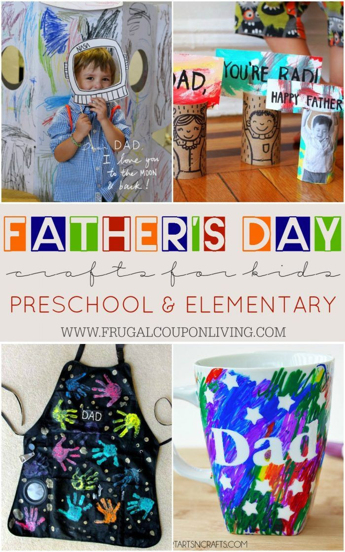Mother'S Day Gift Ideas For Preschoolers  Father s Day Crafts for Kids Preschool Elementary and