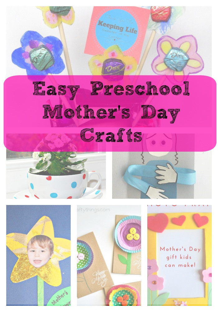 Mother'S Day Gift Ideas For Preschoolers  Mother's Day Crafts Gift Ideas – Great for Preschool