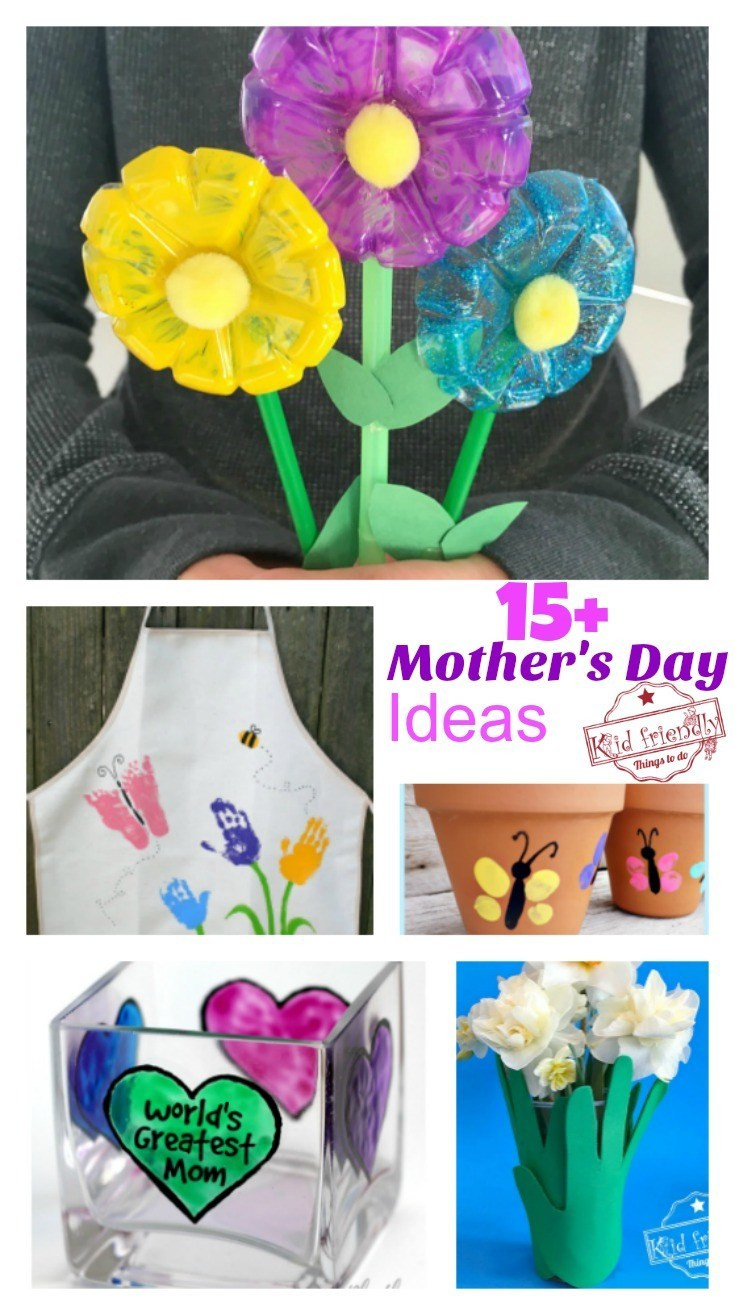 Mother'S Day Gift Ideas For Preschoolers  Over 15 Mother s Day Crafts That Kids Can Make for Gifts