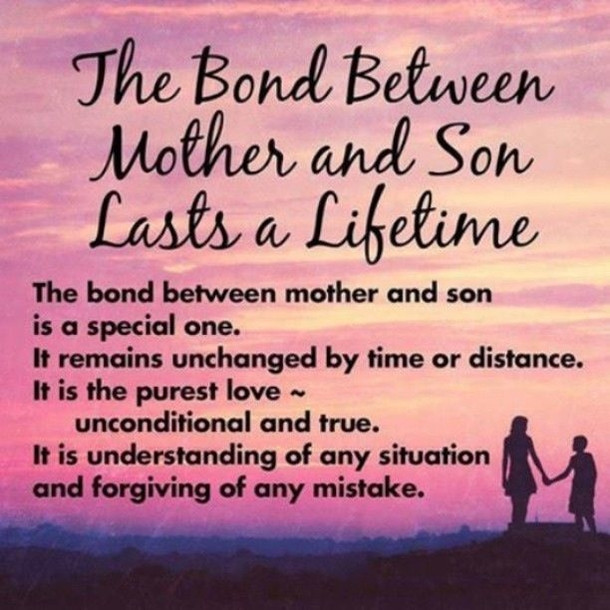 Mothers Quote To Her Son  10 Best Mother And Son Quotes