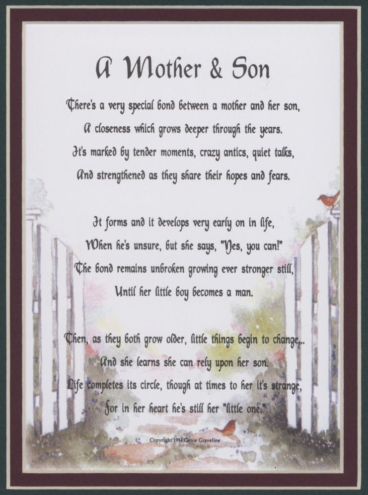 Mothers Quote To Her Son  Mother Son Quotes For QuotesGram