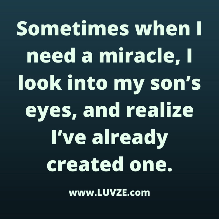 Mothers Quote To Her Son  90 Cute Mother Son Quotes and Sayings