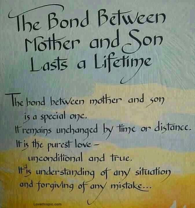 Mothers Quote To Her Son  17 Best Son Quotes on Pinterest