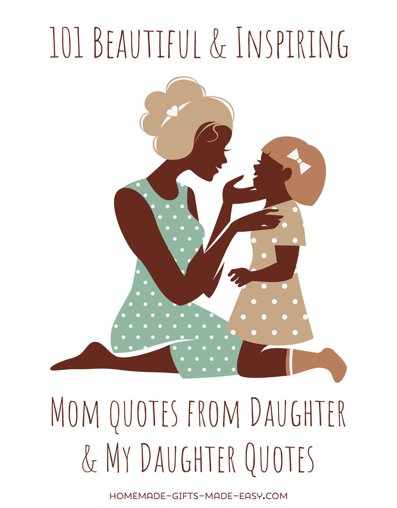 Mothers Quotes From Daughters  101 Best Mother Daughter Quotes For Cards and Speeches