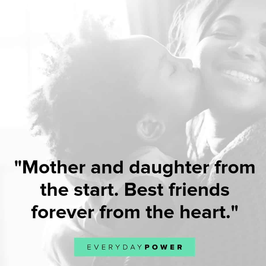 Mothers Quotes From Daughters  50 Mother Daughter Quotes Expressing Unconditional Love 2019