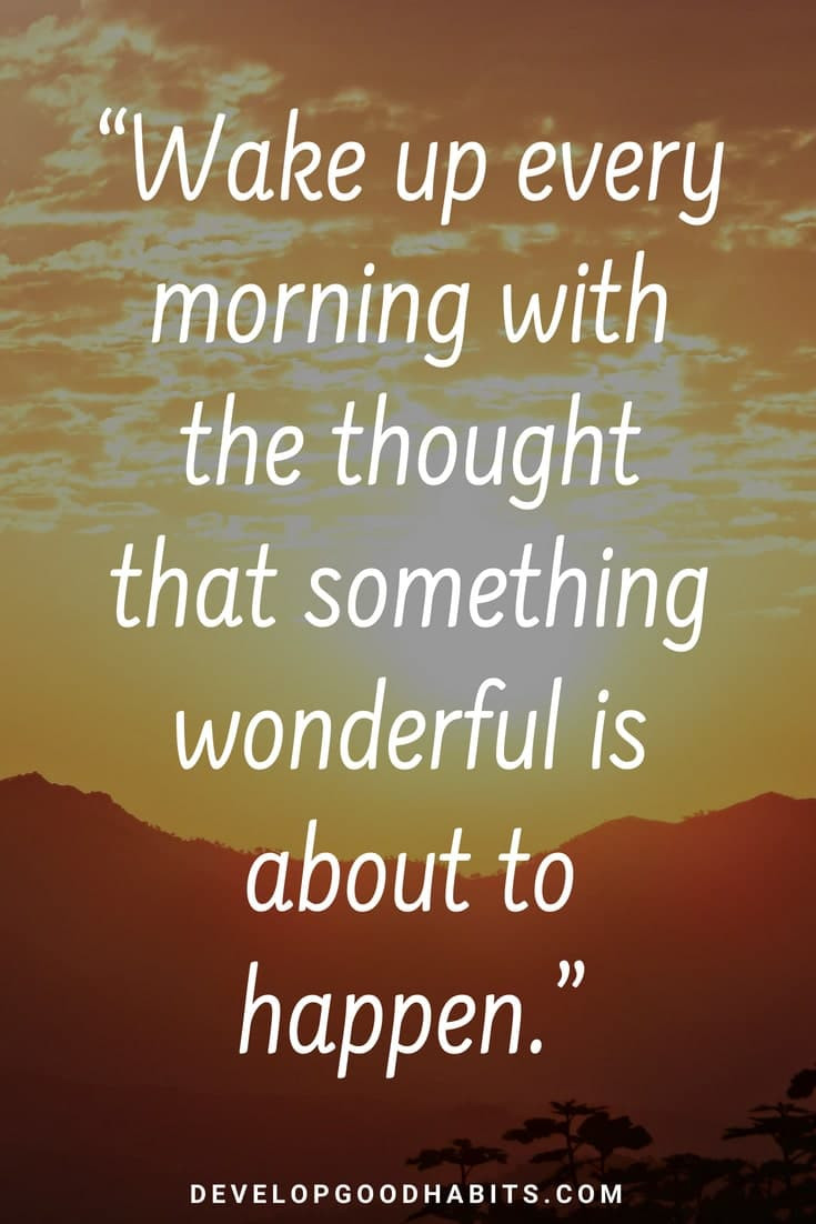 """Motivational Morning Quotes  95 Thoughtful """"Good Morning"""" Quotes to Start the Day the"""