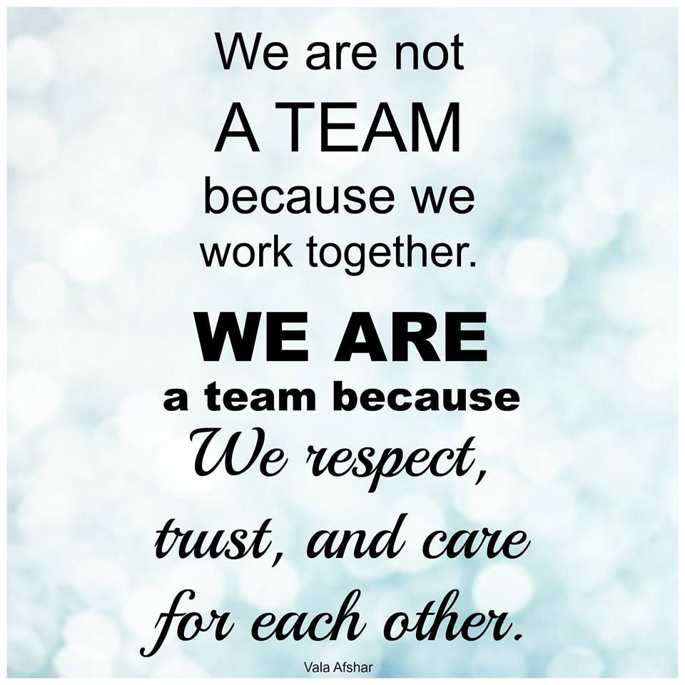 """Motivational Quotes For Teams  There is no I in """"Team"""" Just Saying"""