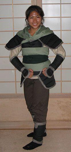 Mulan Costume DIY  Mulan as Ping costume using two modified patterns Kwik
