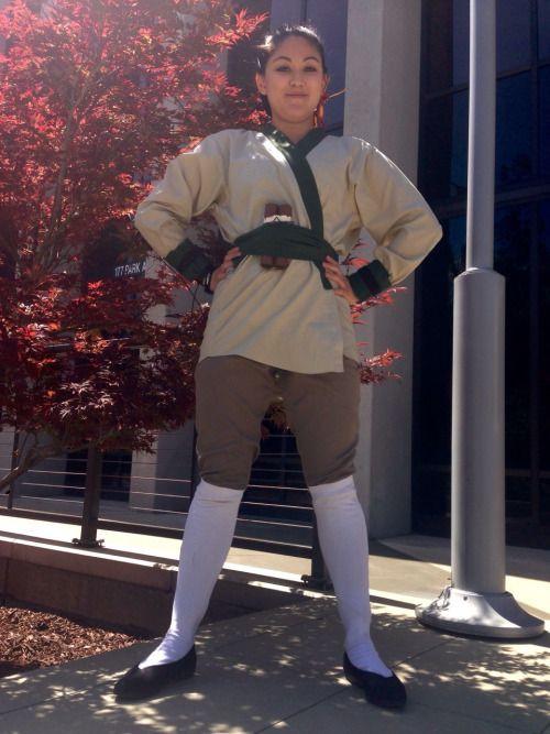 Mulan Costume DIY  My first fanime 2015 Giving my Ping Mulan costume a go