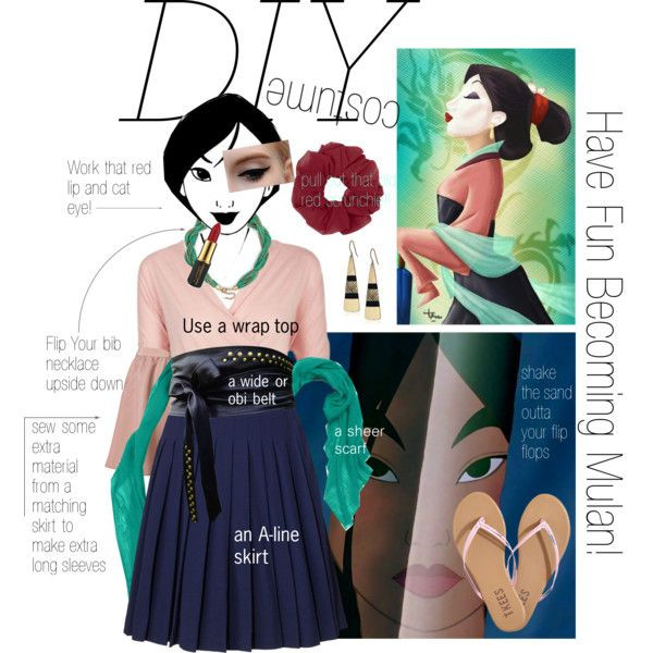 Mulan Costume DIY  1000 images about Halloween costumes on Pinterest