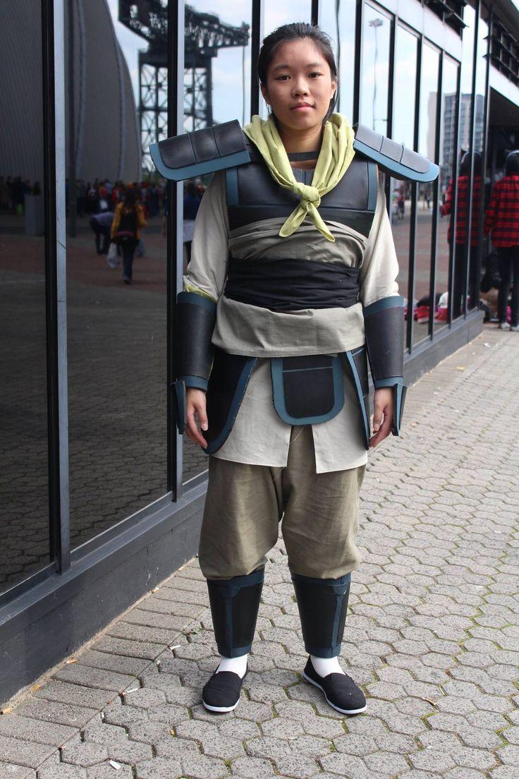 Mulan Costume DIY  Disney Mulan Ping Training Costume & Armour Tutorial in