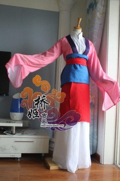 Mulan Costume DIY  mulan costume Princess part Pinterest