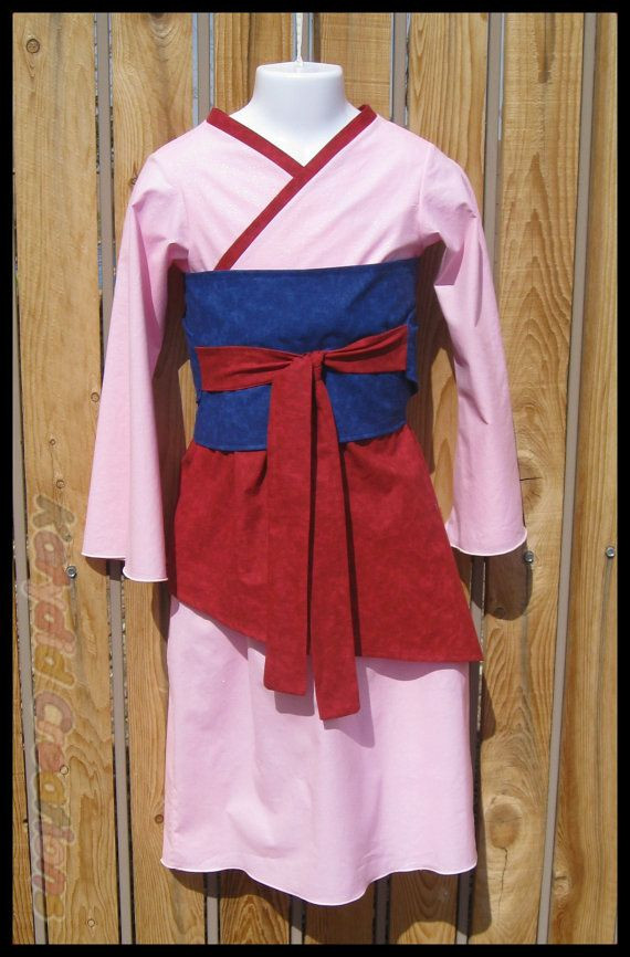 Mulan Costume DIY  17 Best images about Princess on Pinterest