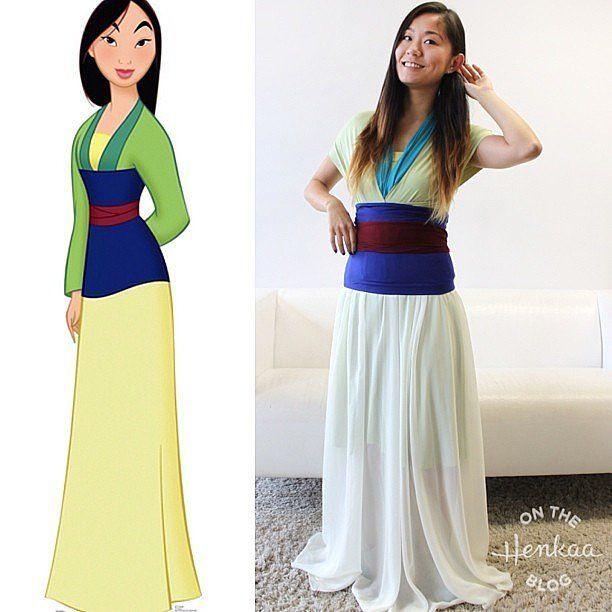 Mulan Costume DIY  Best 25 Mulan halloween costume ideas on Pinterest