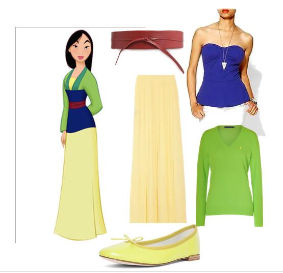 Mulan Costume DIY  Mulan Disney Fall fun