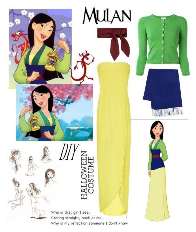 "Mulan Costume DIY  ""DIY Halloween Costume Mulan"" by daisslovebeauty on"