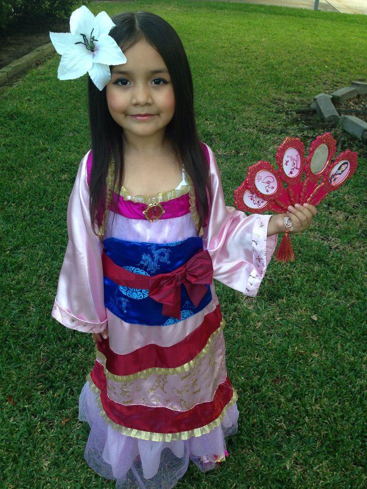 Mulan Costume DIY  Disney Princess Mulan Costume Halloween