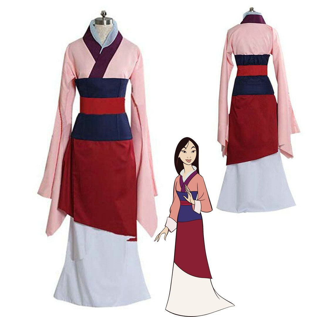 Mulan Costume DIY  Lady General Hua Mulan Dress Custom Halloween Party