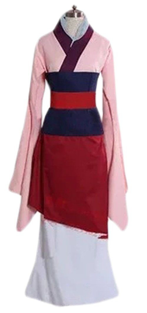 Mulan Costume DIY  Ace Halloween Adult Women s Mulan Costumes Custom made S
