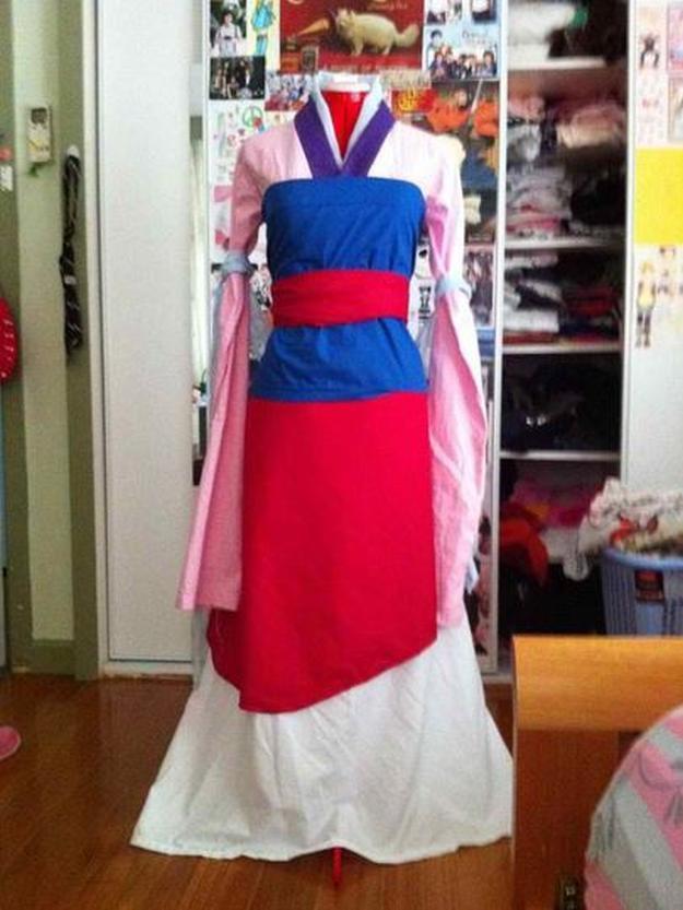 Mulan Costume DIY  How to Make Custom Disney Costumes DIY Projects Craft