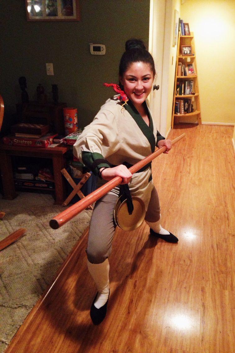 """Mulan Costume DIY  """"My name is Ping """" Easy Mulan costume Disney s Ping"""
