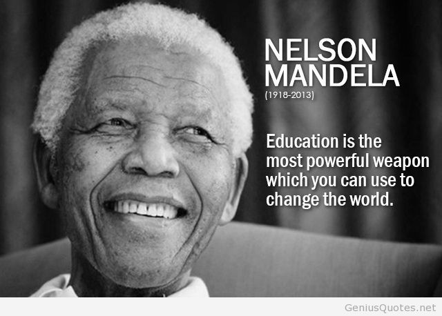 Nelson Mandela Quotes About Education  education quotes wallpaper
