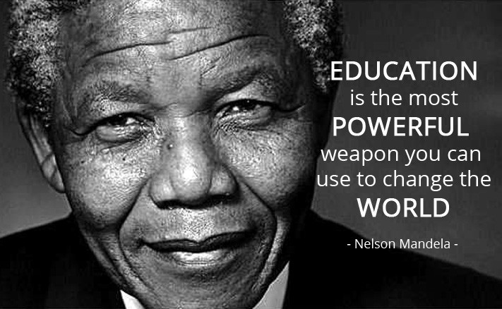 Nelson Mandela Quotes About Education  Jim Webster Digital Marketing Consultant