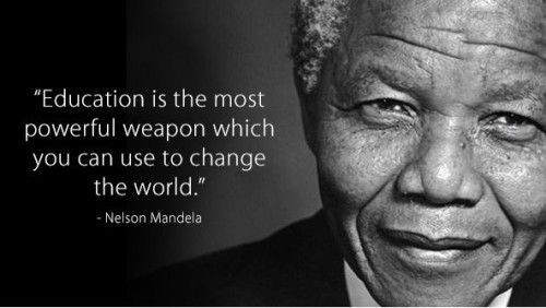 Nelson Mandela Quotes About Education  African Quotes Education QuotesGram