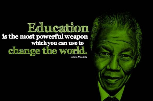 Nelson Mandela Quotes About Education  EDUCATION QUOTES NELSON MANDELA image quotes at relatably