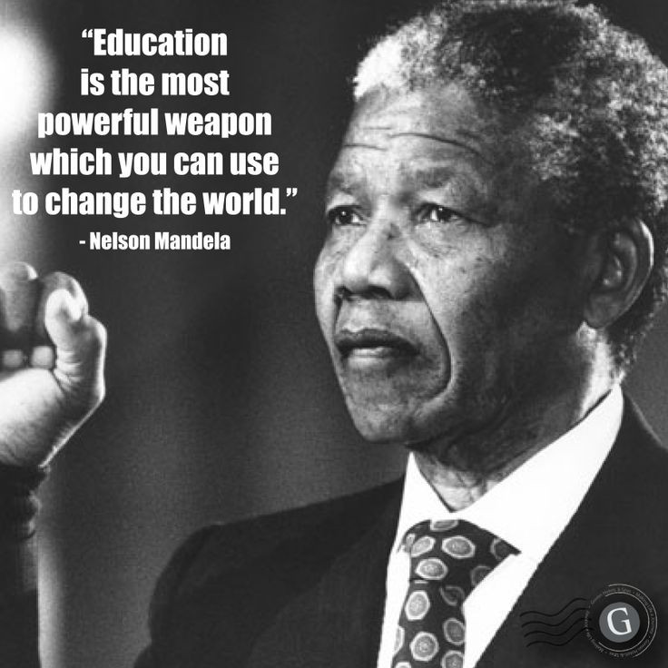 Nelson Mandela Quotes About Education  INSPIRATIONAL EDUCATION QUOTES NELSON MANDELA image quotes
