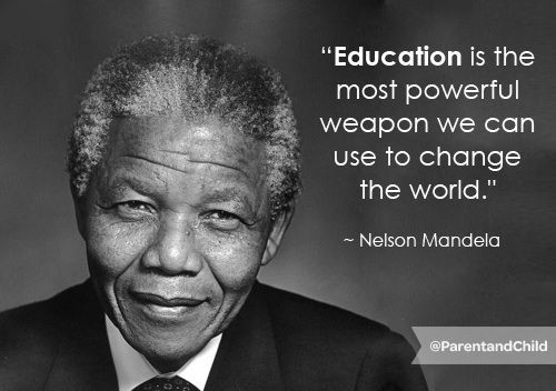 Nelson Mandela Quotes About Education  Best 25 Quotes on education ideas on Pinterest