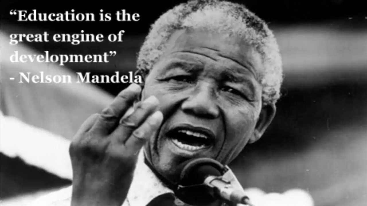 Nelson Mandela Quotes About Education  Education Quote about Nelson Mandela